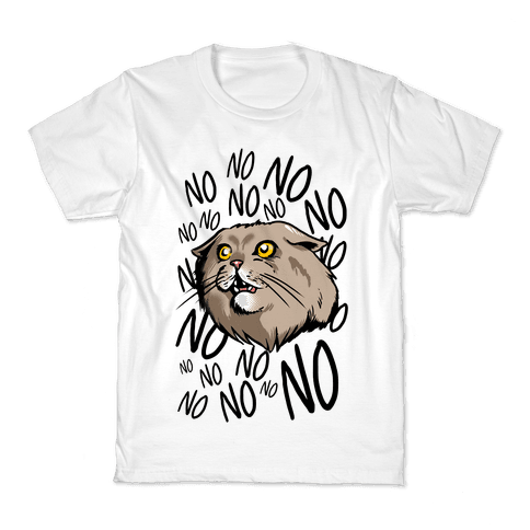 No No No! Cat Kids T-Shirt