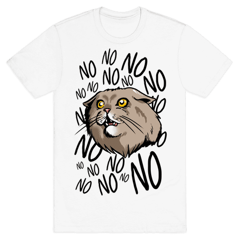No No No! Cat Mens T-Shirt