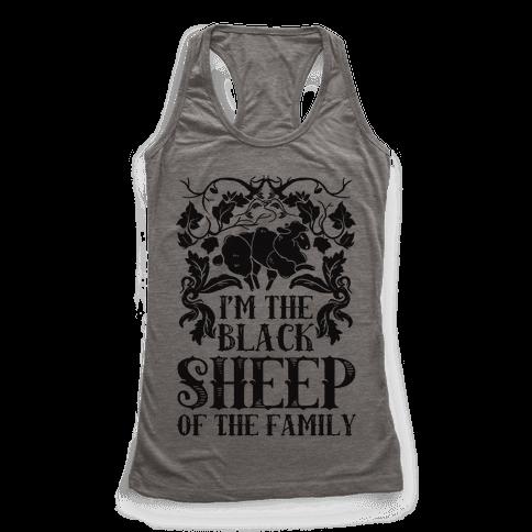 I'm The Black Sheep Of The Family - Racerback Tank - HUMAN