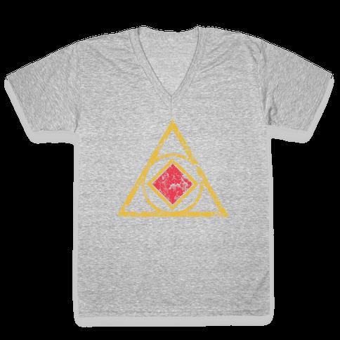 Dr. Orpheus V-Neck Tee Shirt