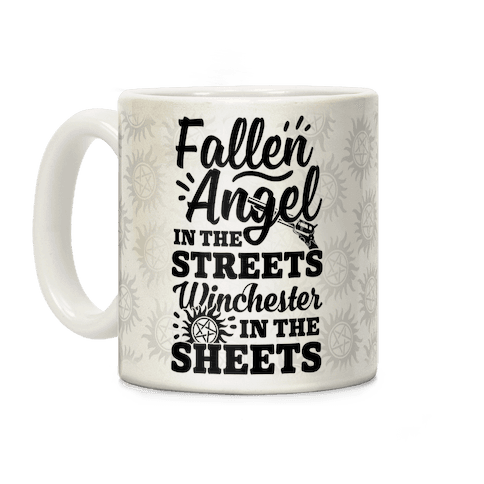 Fallen Angel In The Streets Winchester In The Streets Coffee Mug