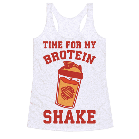 Time For My Brotein Shake