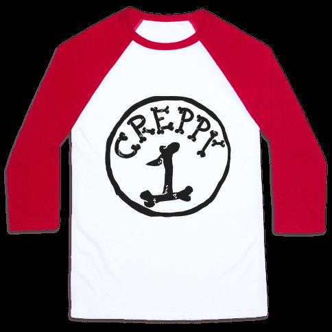Creppy 1 Baseball Tee