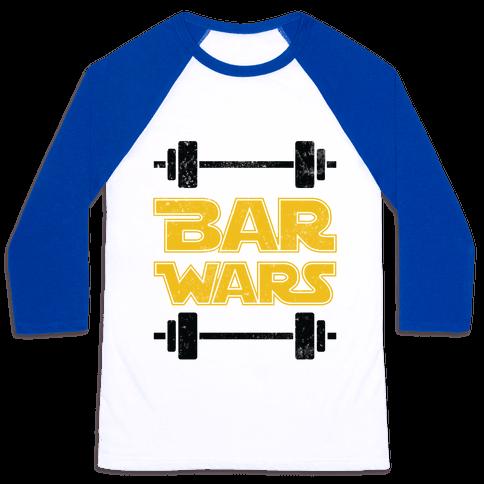Bar Wars Baseball Tee