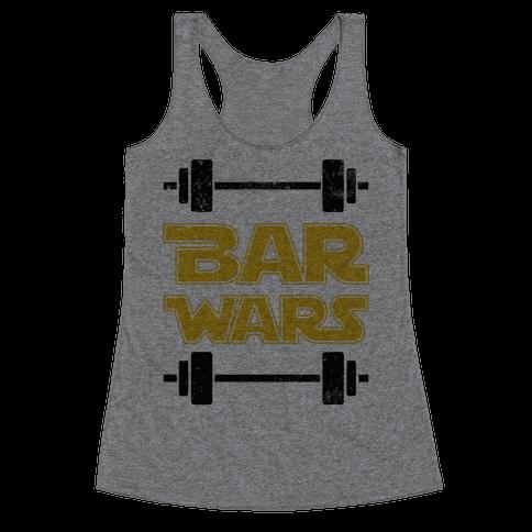 Bar Wars Racerback Tank Top