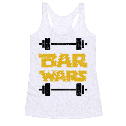 Bar Wars Racerback Tank Top