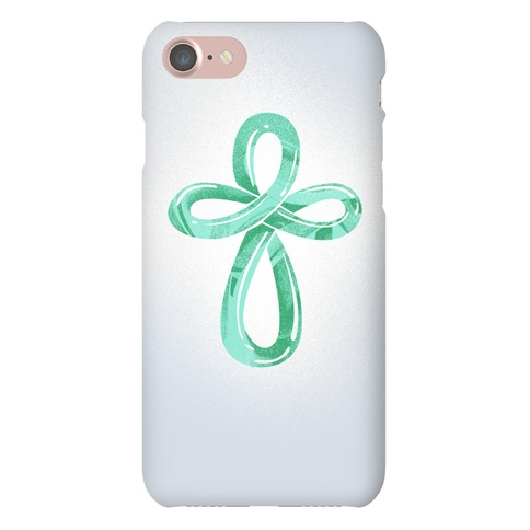 Infinity Cross Phone Case