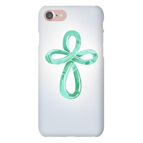 Infinity Cross Phone Case