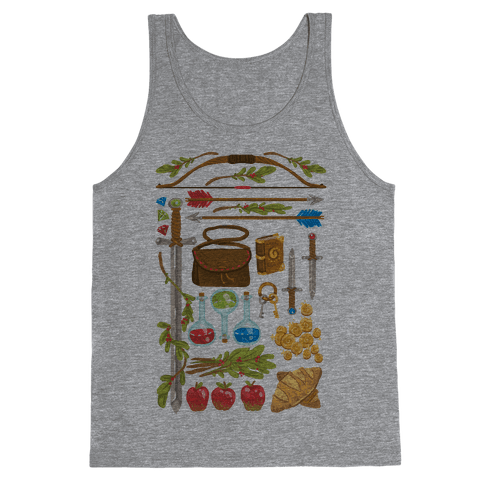 Fantasy RPG Adventurer Kit Tank Top