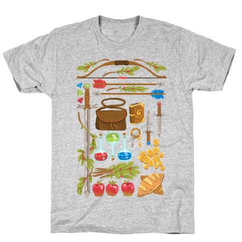 Fantasy RPG Adventurer Kit T-Shirt