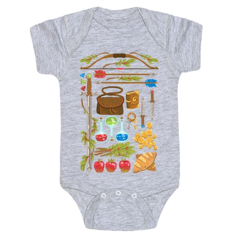 Fantasy RPG Adventurer Kit Baby Onesy