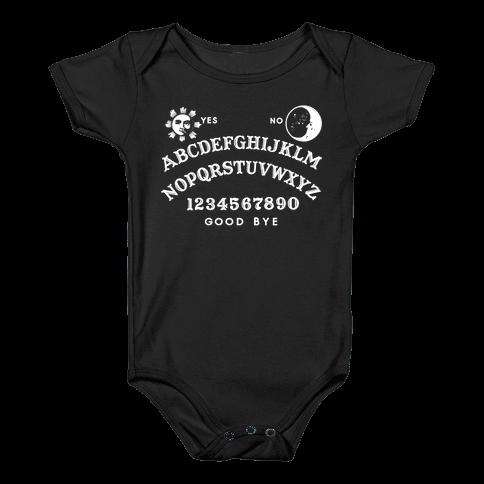 Ouija Baby Onesy