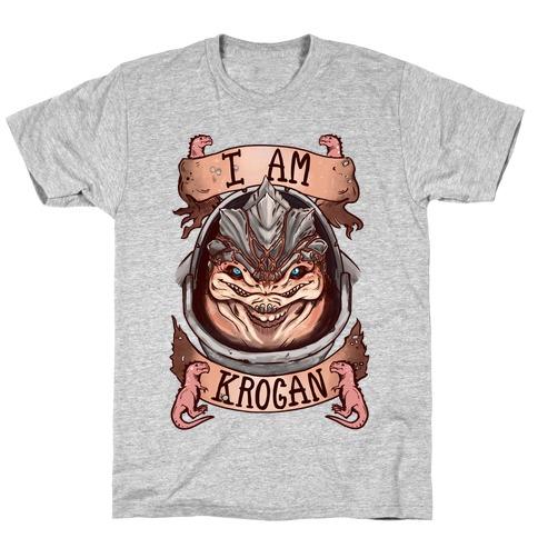 I am KROGAN! (Grunt) Mens T-Shirt