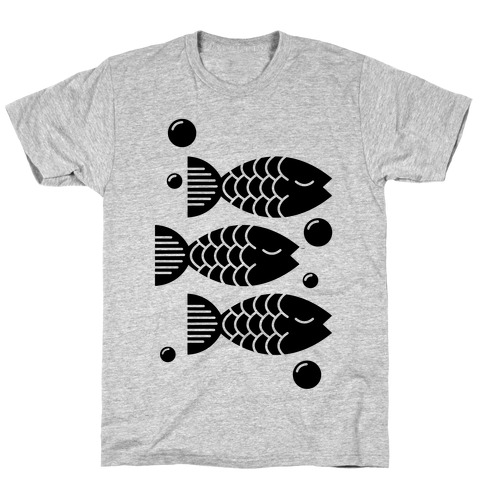 Geometric Fish T-Shirt