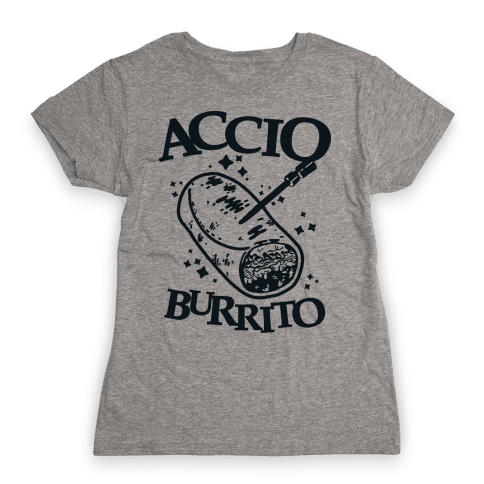 Accio Burrito Womens T-Shirt