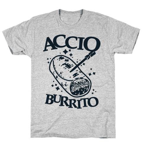 Accio Burrito Mens T-Shirt