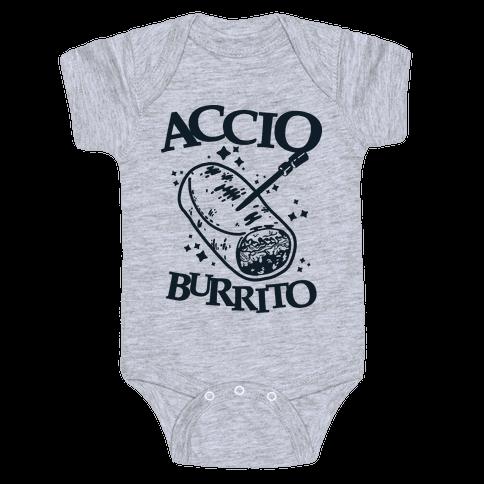 Accio Burrito Baby Onesy