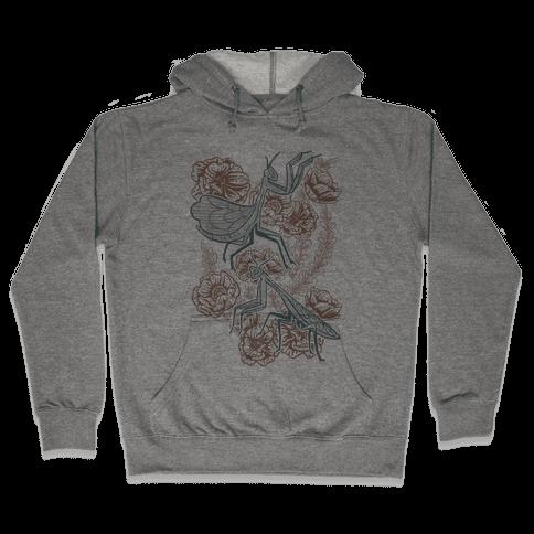 Praying Mantis Art Hooded Sweatshirts Lookhuman