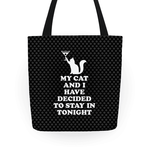 My Cat And I Tote
