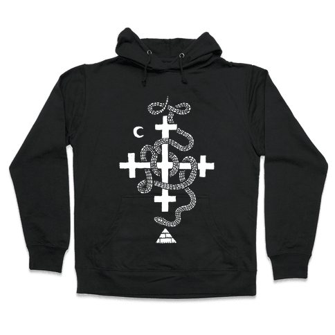 Snake Cult Hooded Sweatshirt
