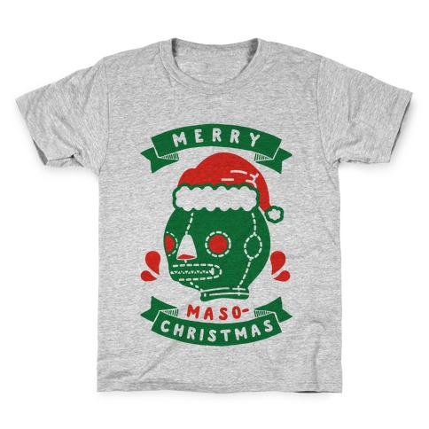 Merry Masochist Christmas Kids T-Shirt