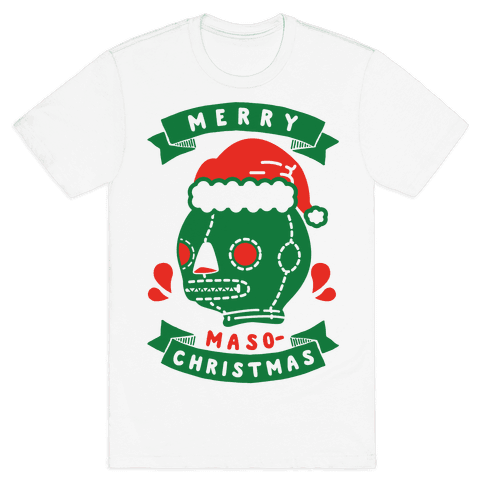 Merry Masochist Christmas Mens T-Shirt