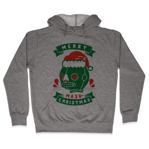 Merry Masochist Christmas Hooded Sweatshirt