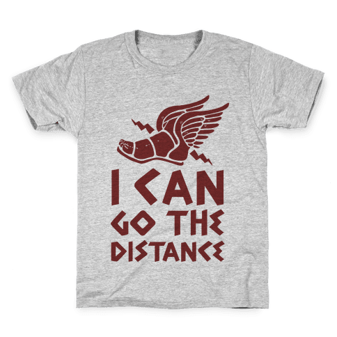 I Can Go The Distance Kids T-Shirt