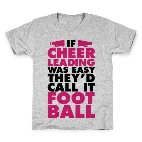 If Cheerleading Was Easy Kids T-Shirt