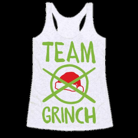 Team Grinch Racerback Tank Top