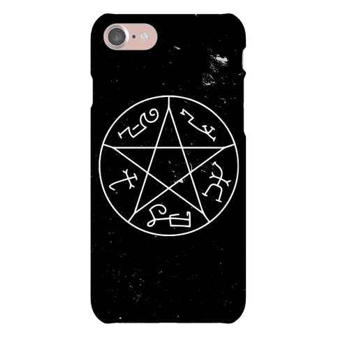 Devil's Trap Phone Case