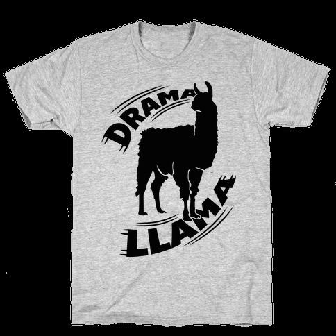 Drama Llama Mens T-Shirt