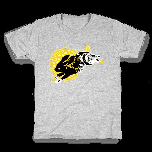 Tribal Rabbit Kids T-Shirt