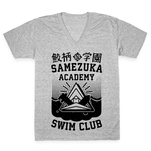 Samezuka Academy Swim Club V-Neck Tee Shirt