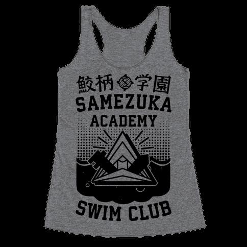 Samezuka Academy Swim Club Racerback Tank Top