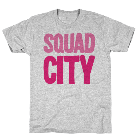 Squad City Mens T-Shirt