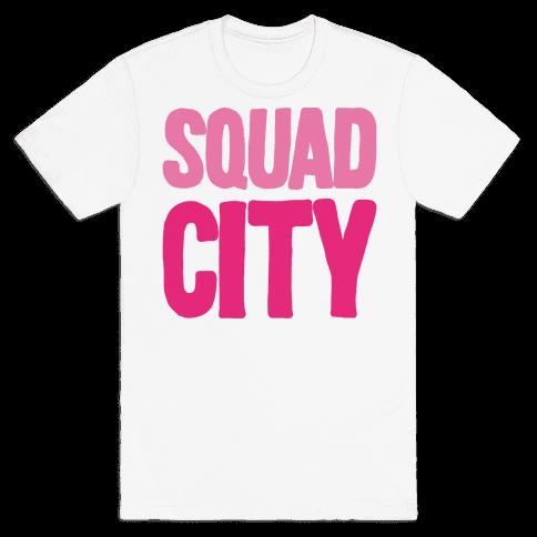 Squad City Mens T-Shirt