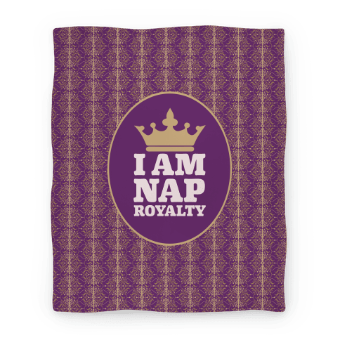 I Am Nap Royalty Blanket