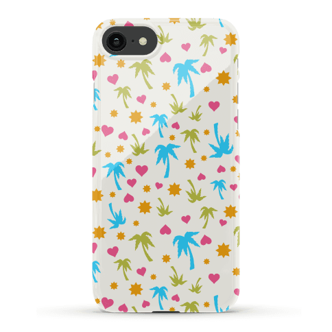 Beach Love Pattern Case