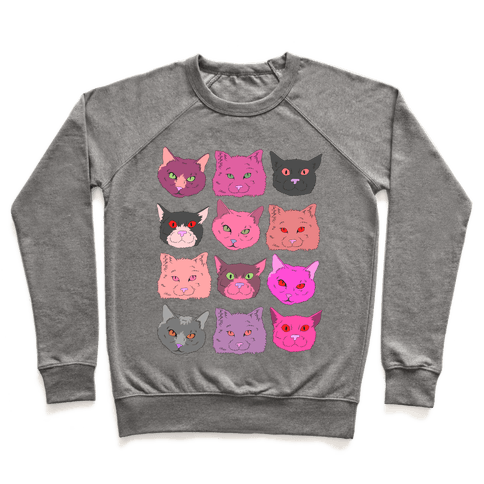 CATS ARE WONDERFUL BEASTS Pullover