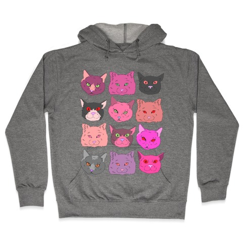 CATS ARE WONDERFUL BEASTS Hooded Sweatshirt