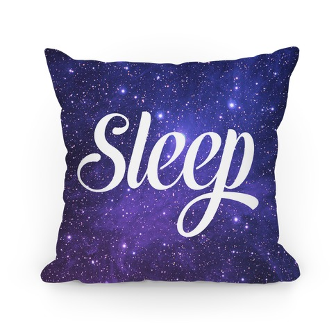 Sleep (Cosmic Pillow) Pillow
