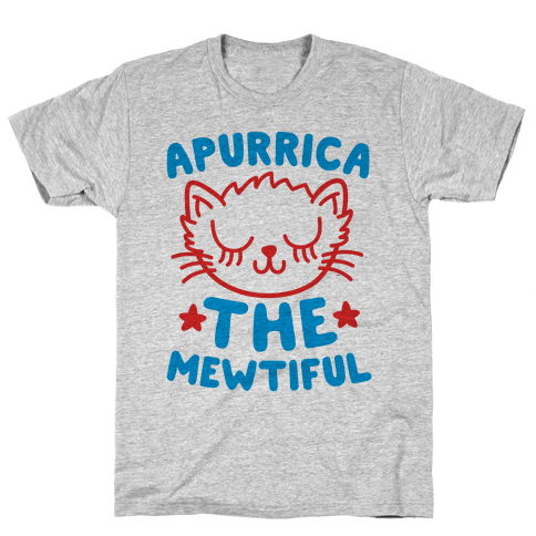 Apurrica The Mewtiful Mens T-Shirt