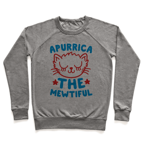 Apurrica The Mewtiful Pullover