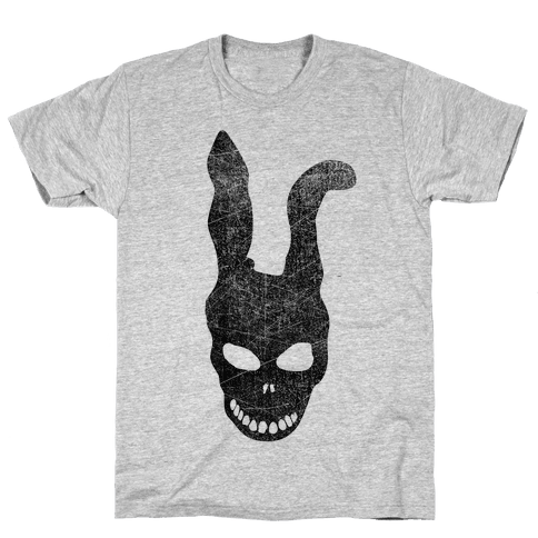 Donnie Darko Frank Skull Mask Mens T-Shirt