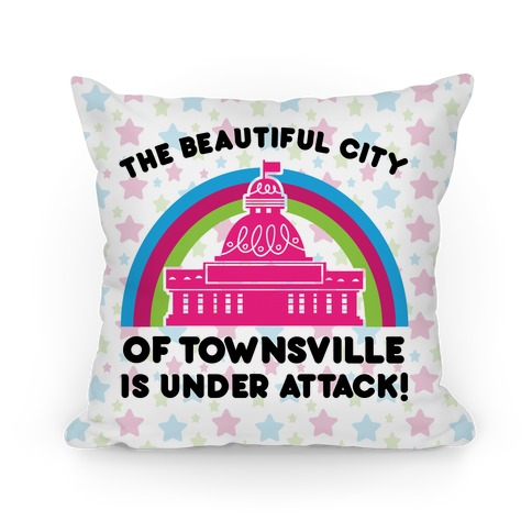 The Beautiful City Of Townsville Pillow