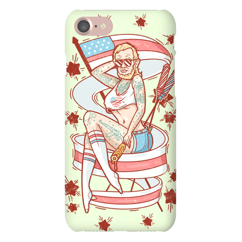 Baberaham Lincoln Phone Case