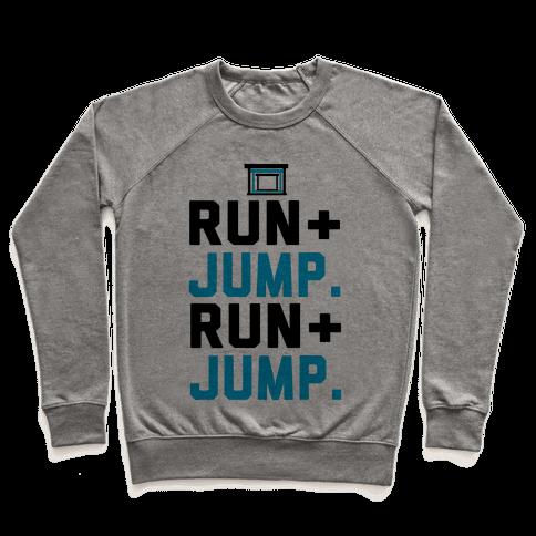 Hurdles: Run and Jump Pullover