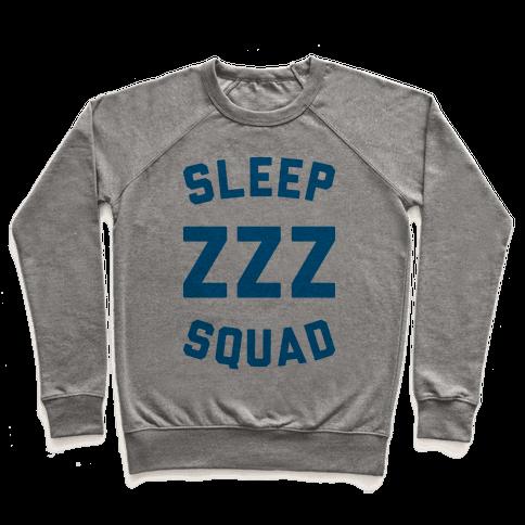 Sleep ZZZ Squad Pullover