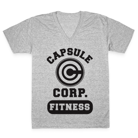 Capsule Corp. Fitness V-Neck Tee Shirt